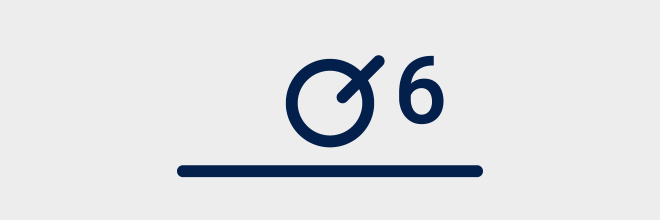 Bundel van zes buizen - Eendraadschema symbolen