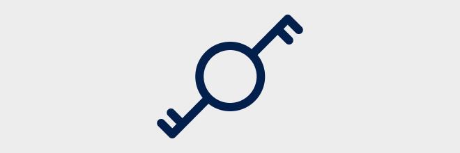 Tweepolige wisselschakelaar - Eendraadschema symbolen